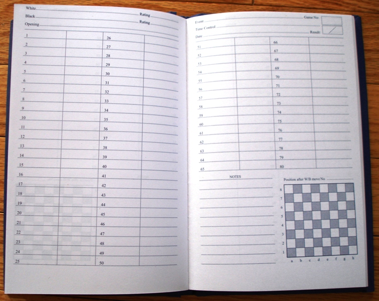 Set Of  Hardcover Chess Score Book Scorebooks Free Ship  Ebay