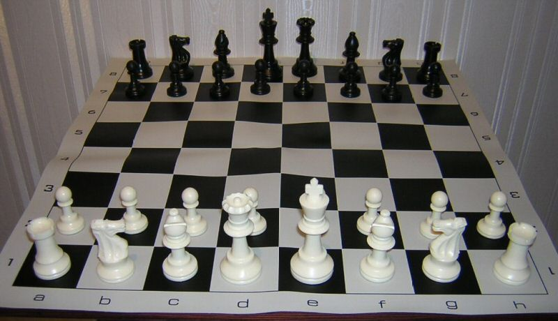 Tournament Chess Set Triple Weighted Pieces Board New Ebay